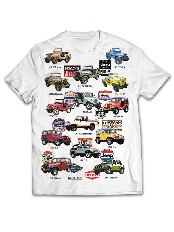 All Over Jeep Willys