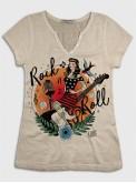 Pin up Rock Guitar