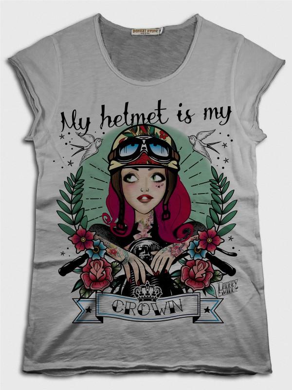 My Helmet is My Crown