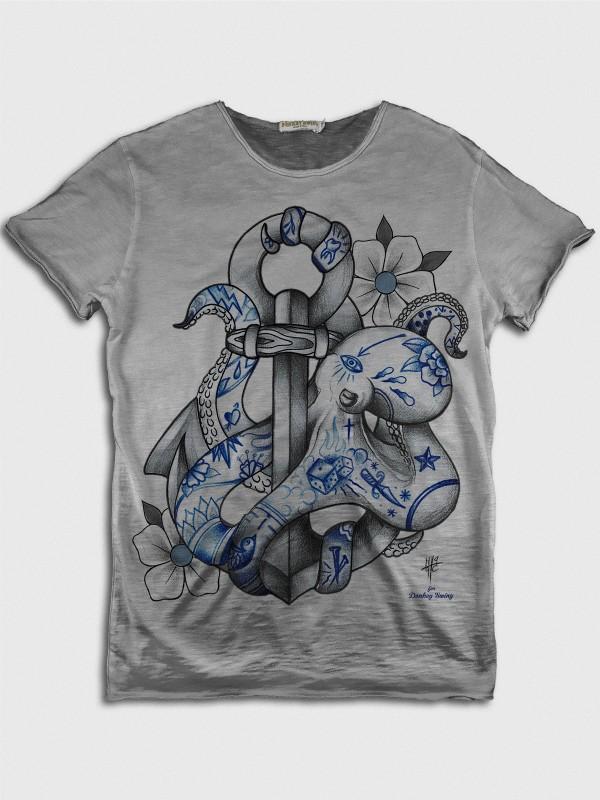 Tattooed Octopus