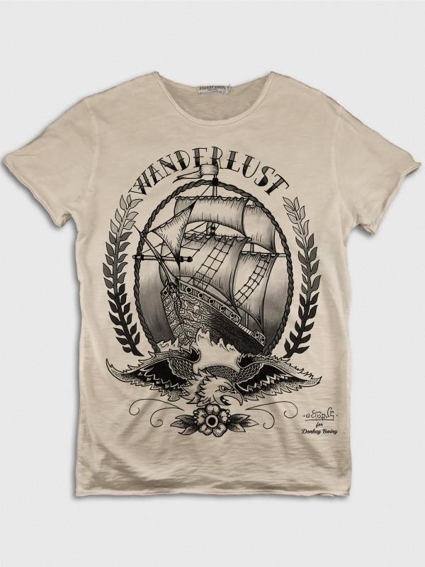Eagle with Sailing Ship