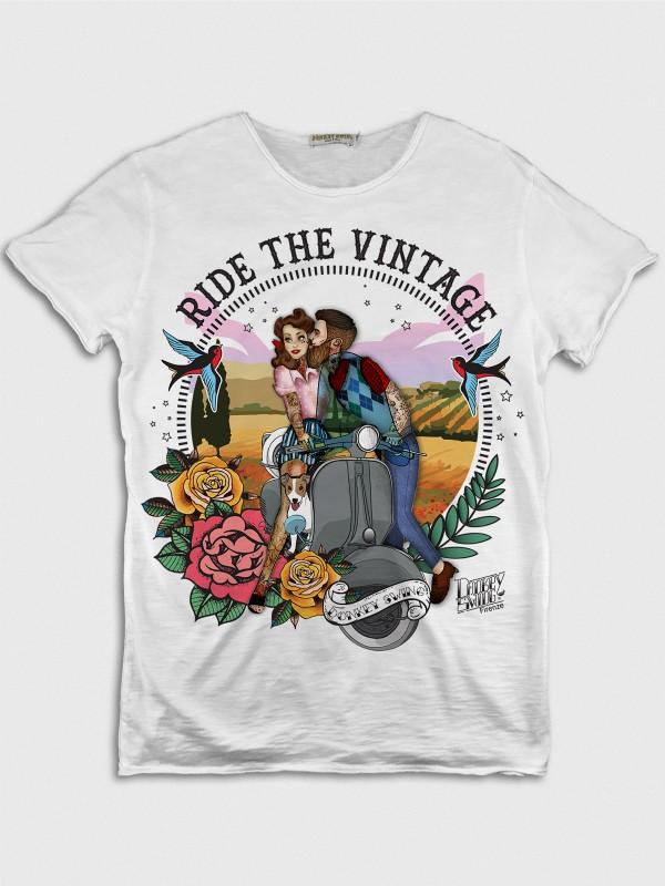 Ride the Vintage Vespa