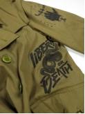 Kustom military trench coat