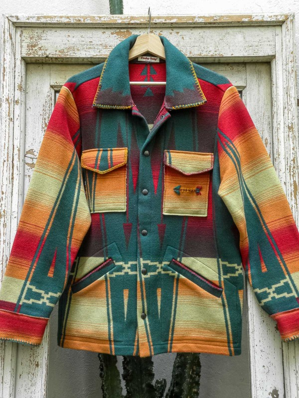Jacket with Navajo Pattern